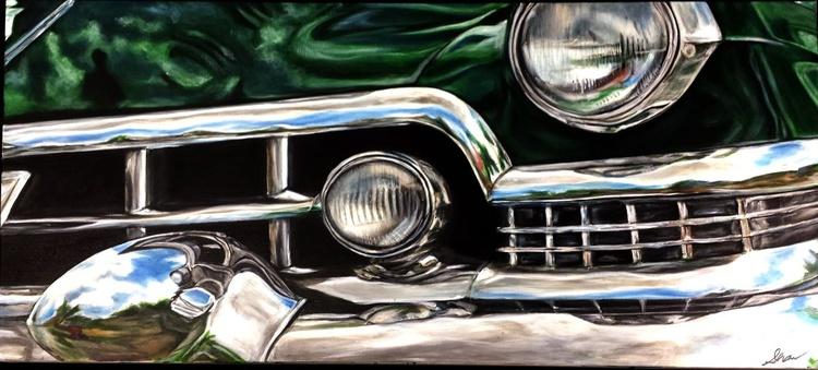 """""""1951 Green Cadillac"""" - Image 0"""