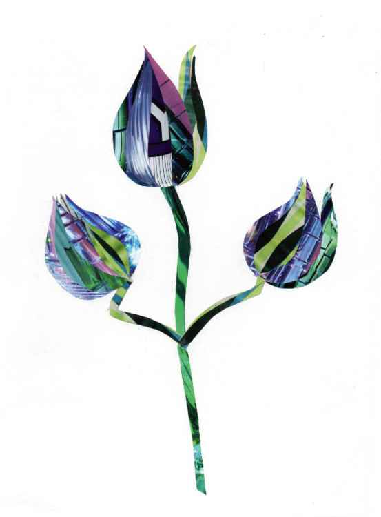 Art Deco Tulips -