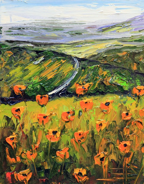 Wine Country Poppies - Image 0