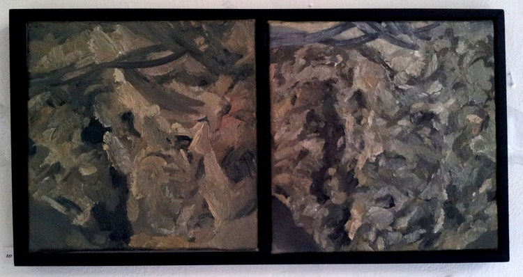 I AM THE ROCK (Diptych) - Image 0