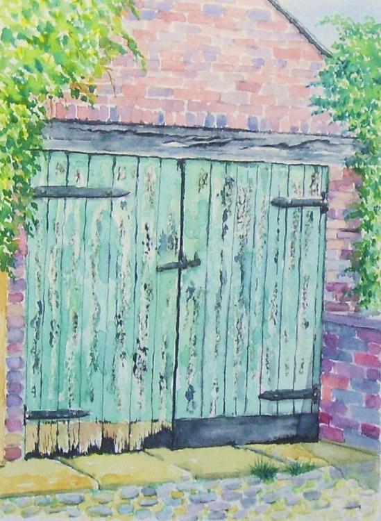 Old Garage Door - Image 0