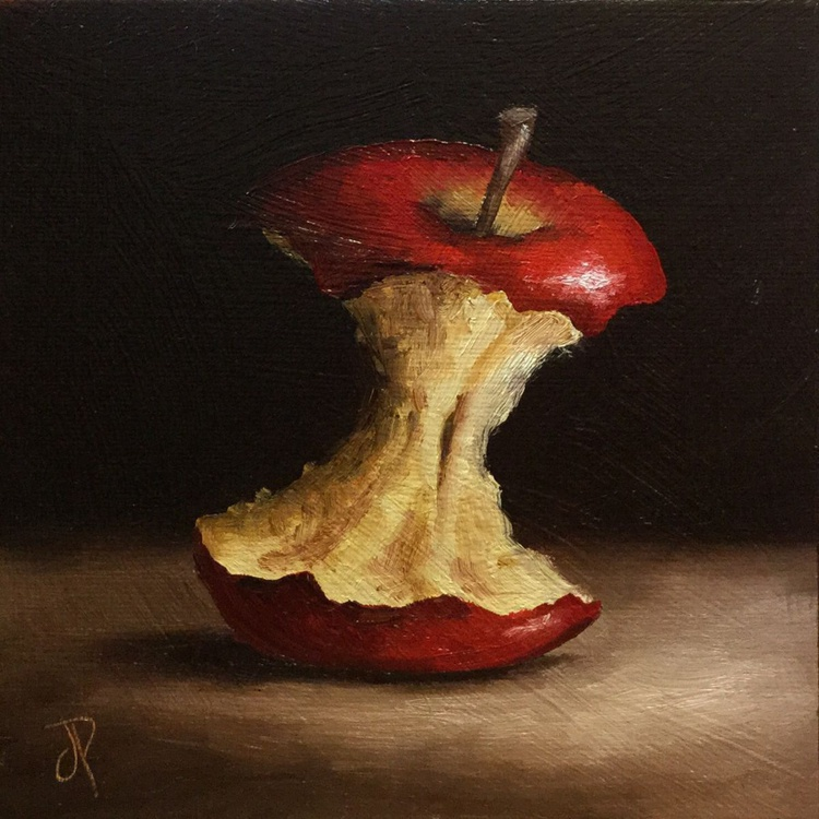Red Apple core - Image 0