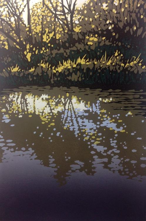 Oxford Canal at Kirtlington - Image 0