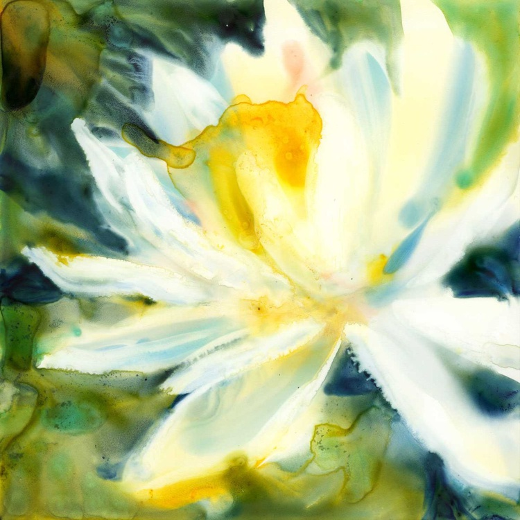 Water Lily Original Watercolor Painting - Image 0