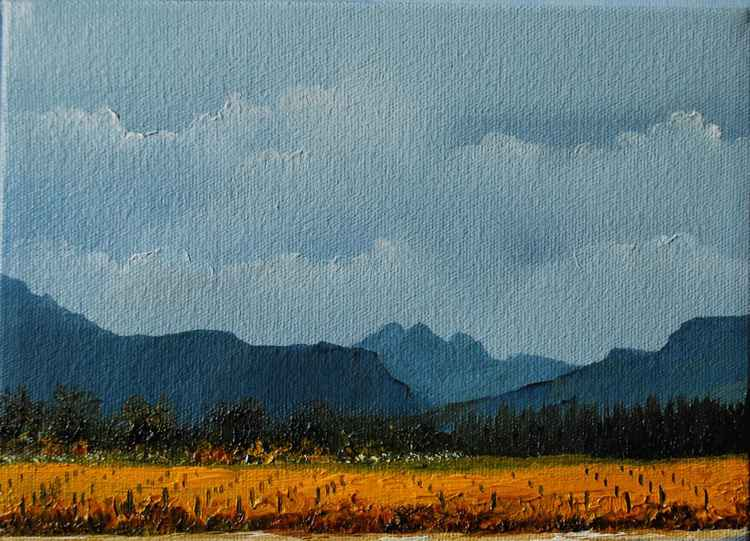 Autumn Vineyard (14.5x20cm)