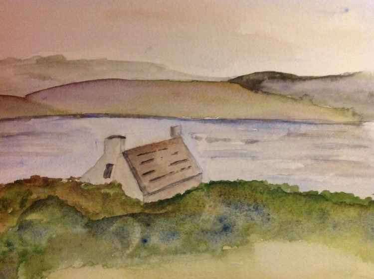 Lochside bothy -