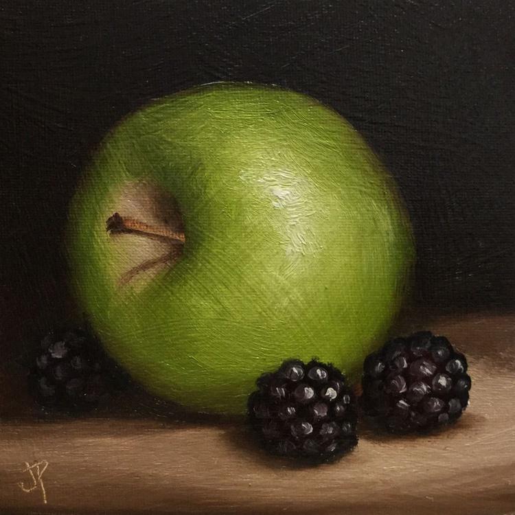 Apple with Blackberries - Image 0