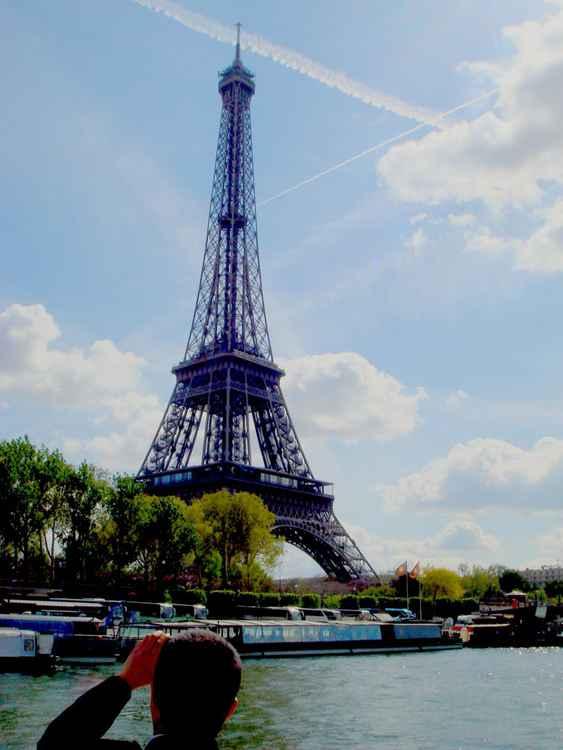 Eiffel Tower - Crossing the sky.