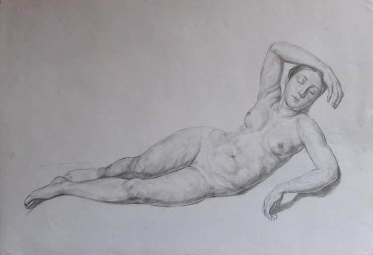 Nude Woman Model - Image 0