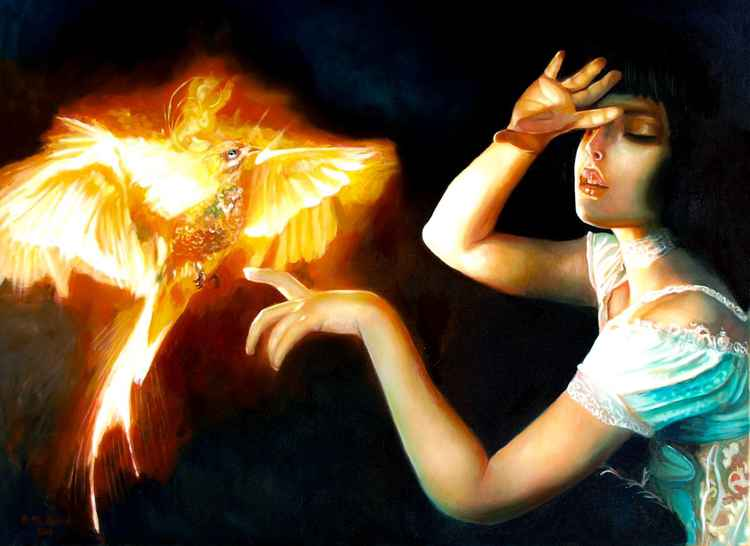 Phoenix bird -