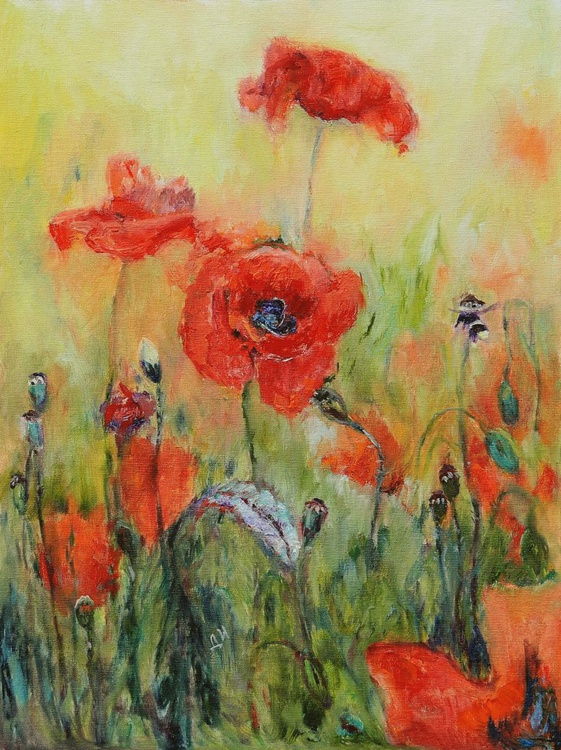 The Time of Poppies. - Image 0