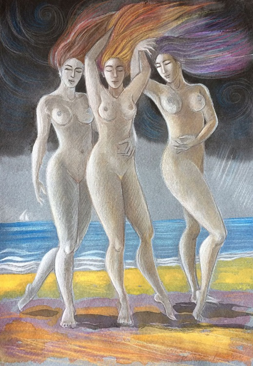 The Three Graces - Summer Storm - Image 0