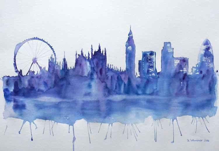 London motives. Blue