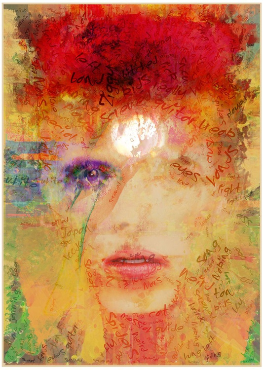 'Stardust, 2015'  - 100% Cotton Fine-Art Giclée - A2 Edition of only 20 - Image 0