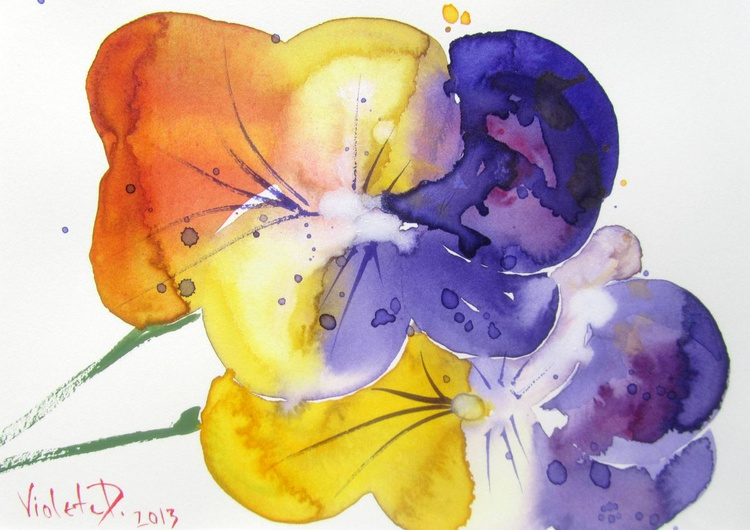 Viola Tricolor 1 - Image 0