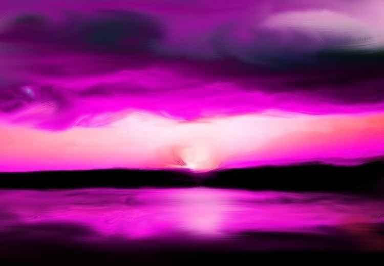 Lavender Sunrise -