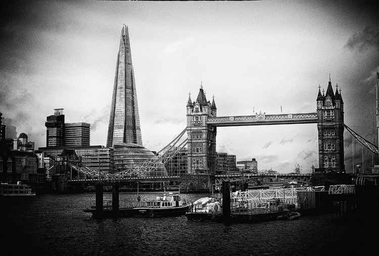 The Shard and Tower Bridge