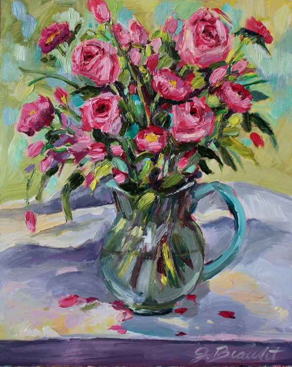 Pink Roses in the Afternoon -