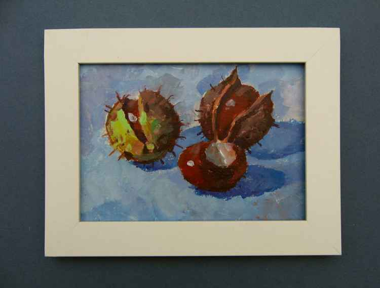 still life with chestnuts -