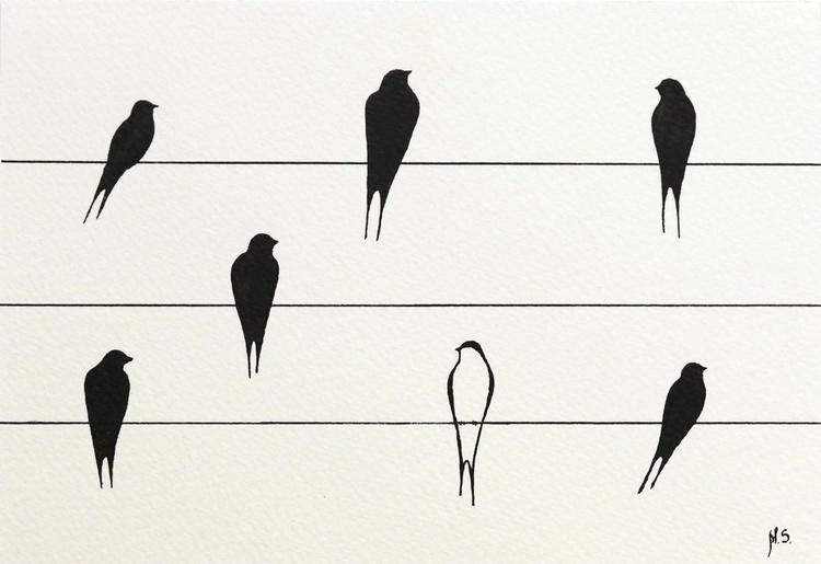 Swallows XXI - Image 0