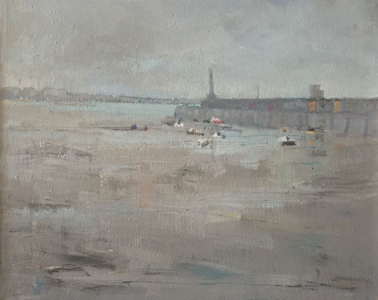 Margate Harbour - Rainy Day in january - Image 0