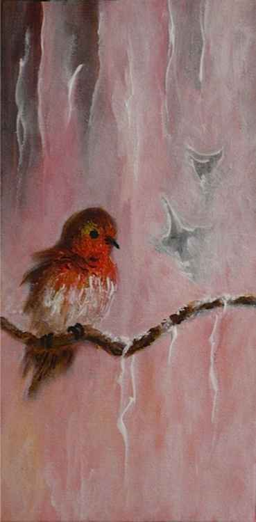 Fluffy Robin -