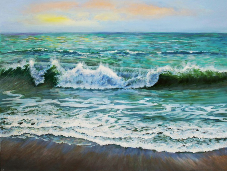Evening Waves - Image 0
