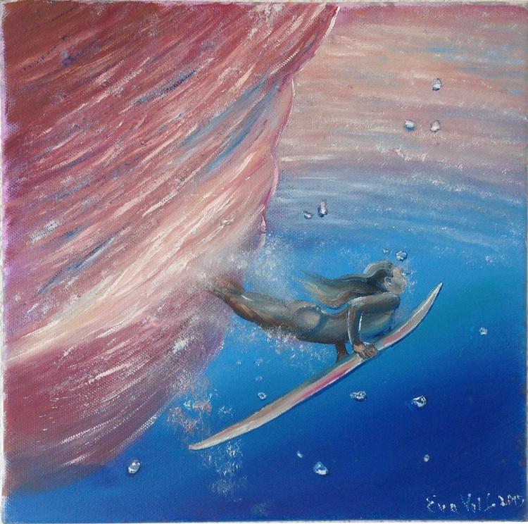 "In Love with the Sea VI 12x12"" - Image 0"