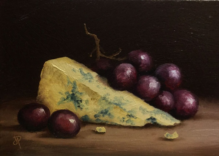 Cheese and grapes - Image 0