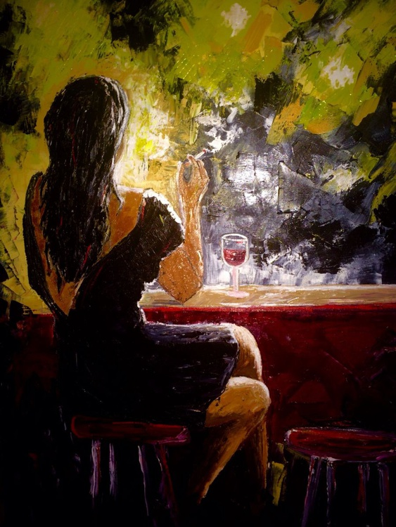 Evening alone - Image 0