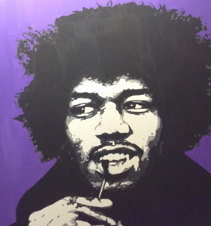 Jimi Hendrix Purple Haze - Image 0