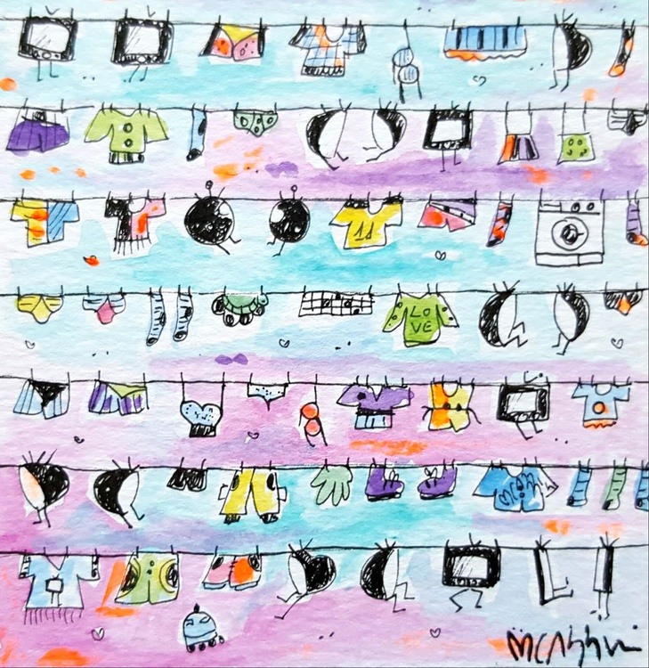 UFO Laundry Televisions - Image 0