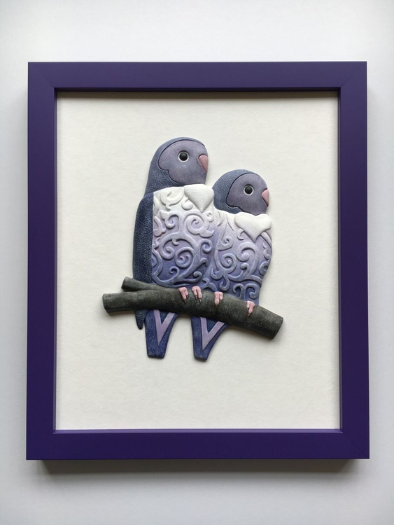 Purple Lovebirds - Image 0