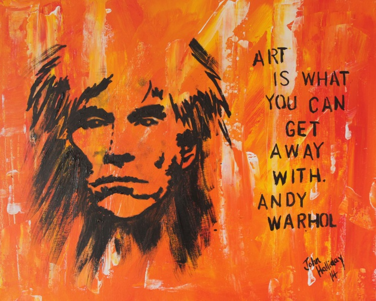 Art is what you can get away with. - Image 0