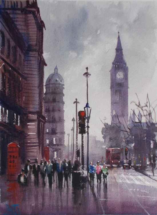London Parliament Square