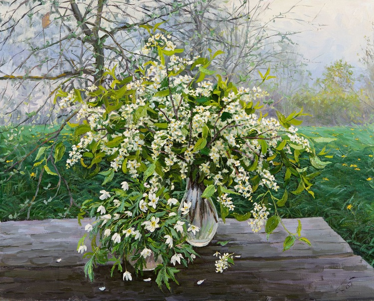 Still Life with Bird-Cherry - Image 0
