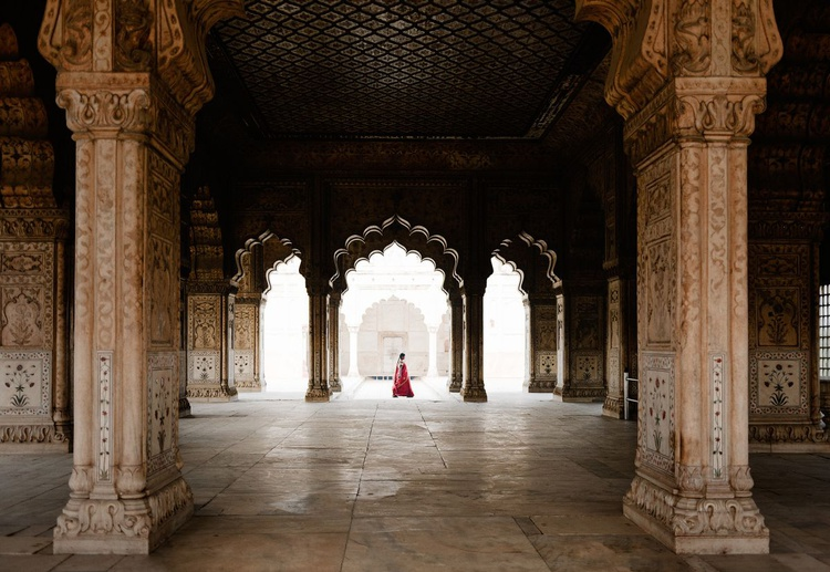 The Red Fort, New Delhi. (29x21cm) - Image 0
