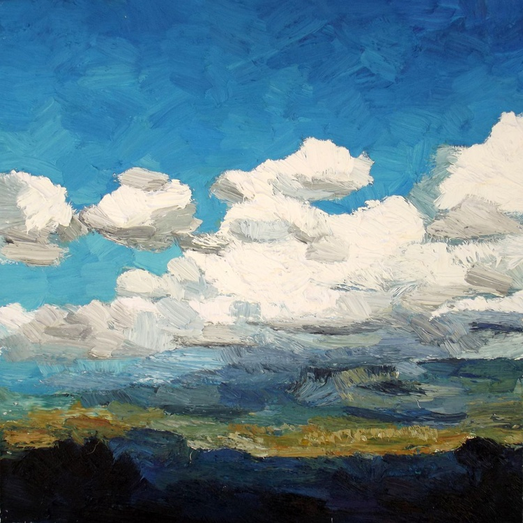 """""""White clouds"""" - Image 0"""