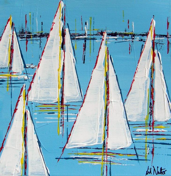 Summer Sails  (8x8) - Image 0