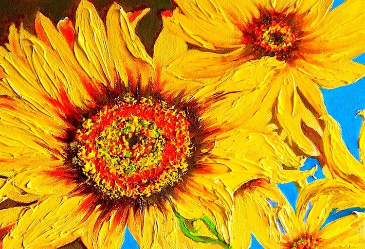 sunflowers of autumn - Image 0