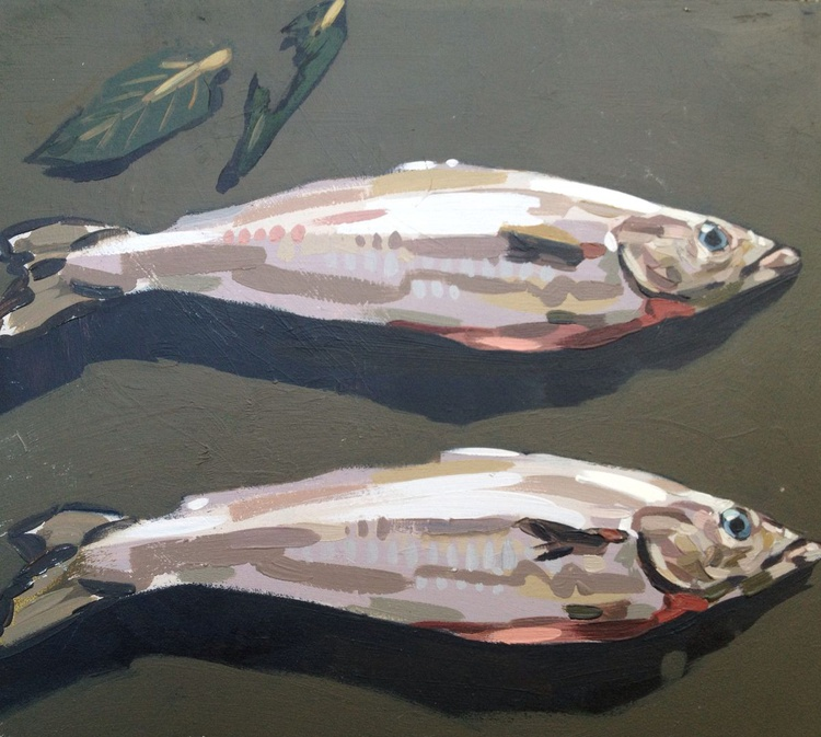 2 Fish with Sage - Image 0