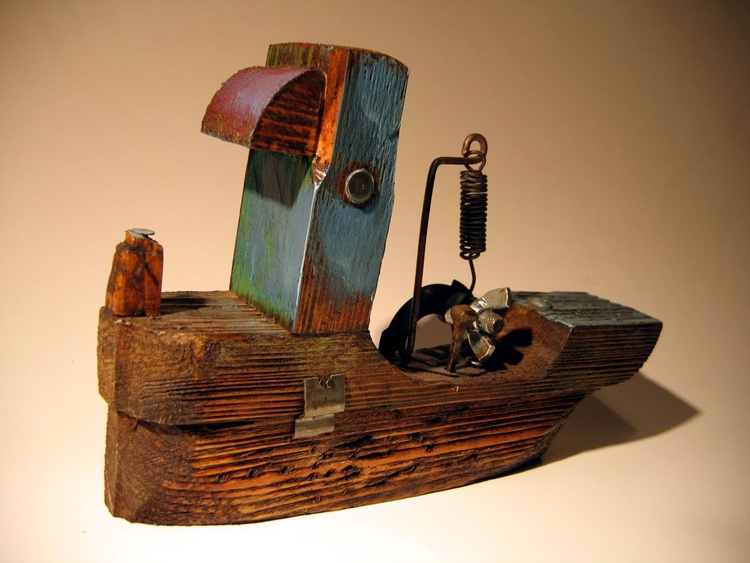 wooden ship BXCIV - Image 0