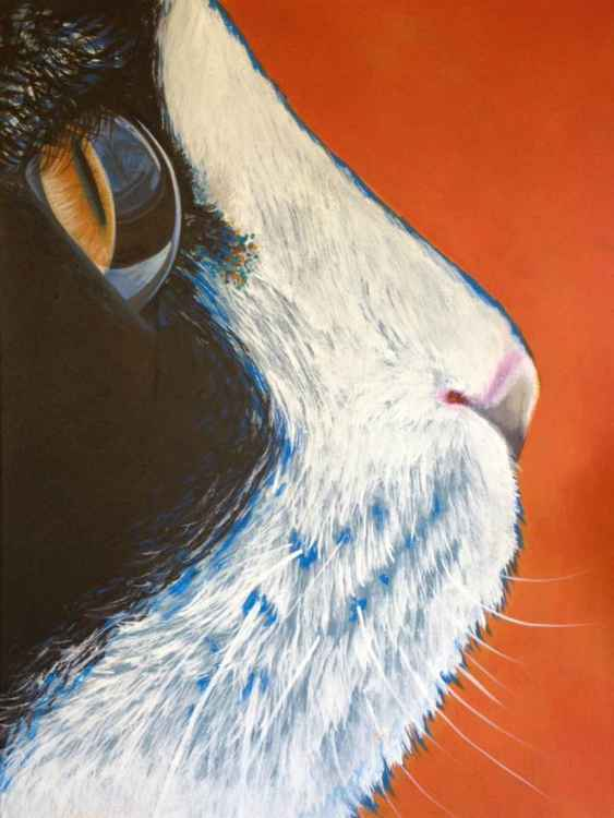 Original Painting of 'Stanley' by Kirstin Wood -