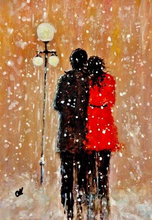 RESERVED /Me, You and a magical Winter night..(2) - Image 0