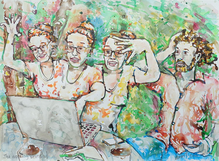 The working brunch - Image 0