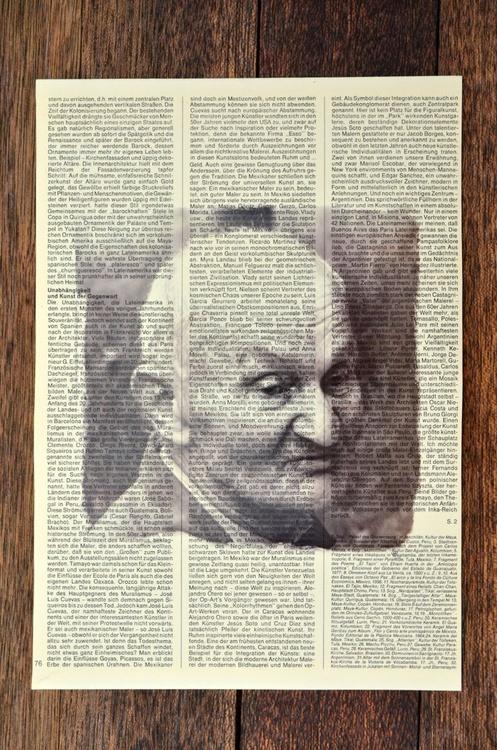 Old Men On Vintage Paper - Image 0