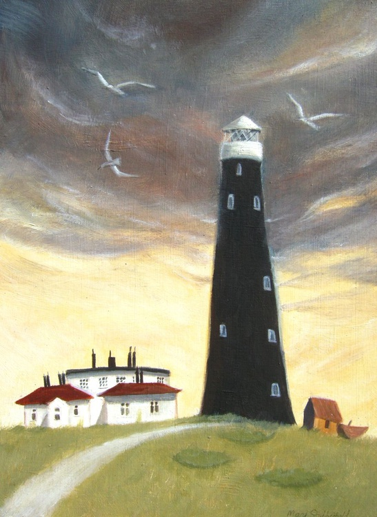 Lighthouse at Dungeness - Image 0