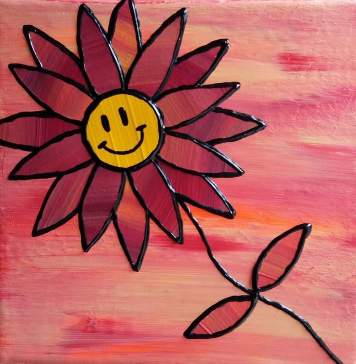 Smiley Flower 1 - Image 0
