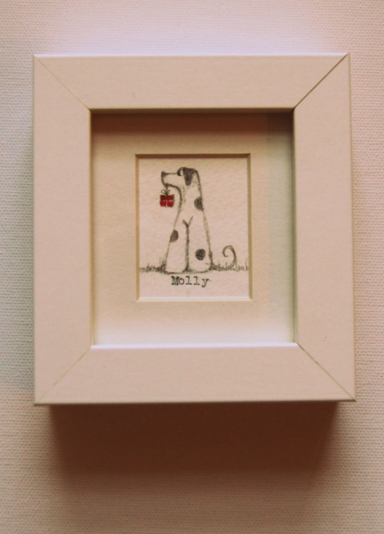 Framed Molly III (miniature).. - Image 0