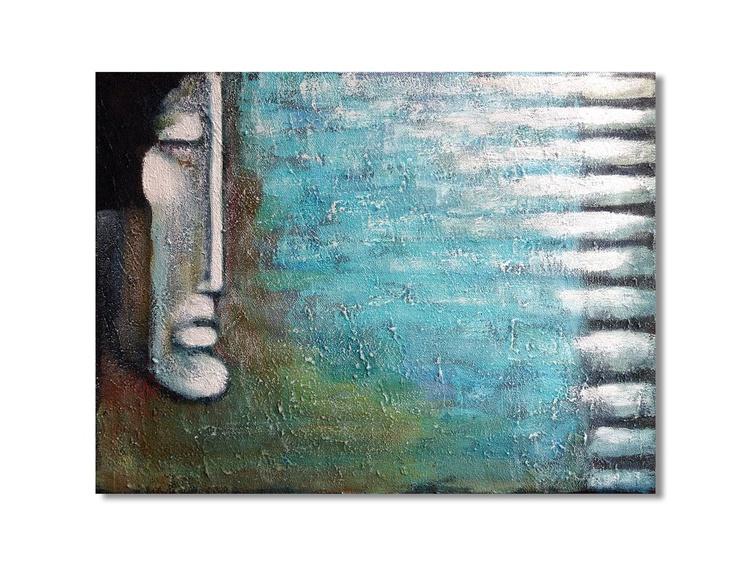 Aqua Klavier (40x30x1.5cm) - Image 0